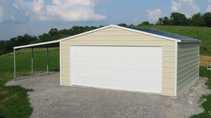 20x20 Portable Carports : Wildcat barns garages rent to own all metal