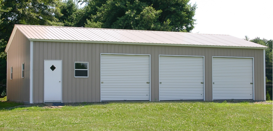 Wildcat barns garages rent to own all metal garages for Diy 3 car garage