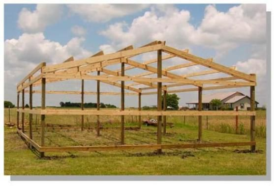 Wildcat barns london ky pole buildings for How to build a pole shed step by step