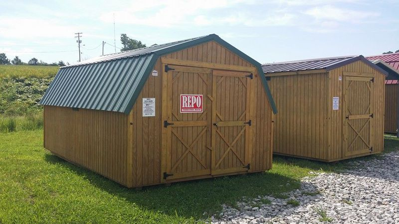 Repo Clearence Units on lean to sheds and outdoor buildings