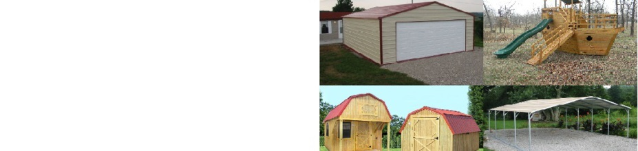 Rent-To-Own Sheds, Barns, Mini Barns, Playhouses, Log Cabins